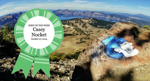 Congratulations Casey Nocket! You're Our Idiot of the Week!