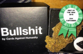 Cards Against Humanity Customers are 2014's Idiot of the Year!